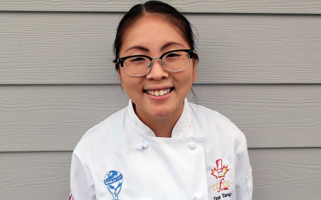 Meet Pastry Chef Tina Tang, role model extraordinaire for young cooks