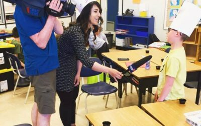 Global News visits Chefs in the Classroom!