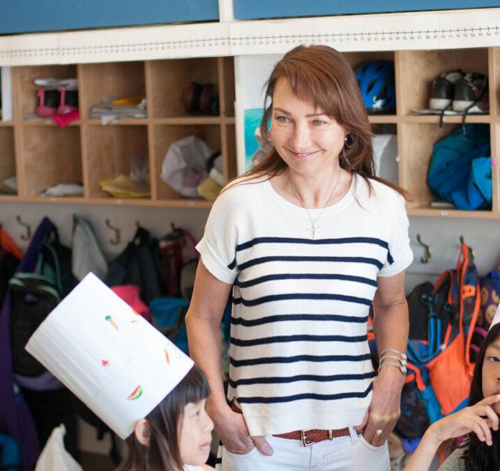 Meet Manuella Farnsworth, realtor and Chefs in the Classroom volunteer